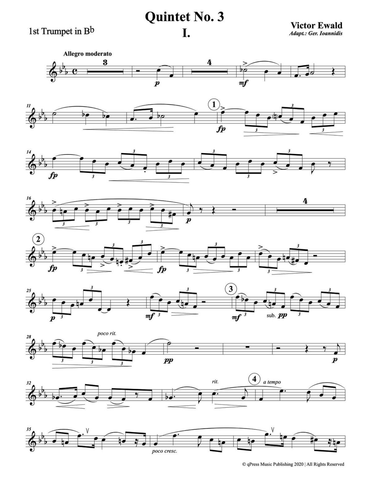 Ewald, Quintet No.3 (Score & Parts)-p033