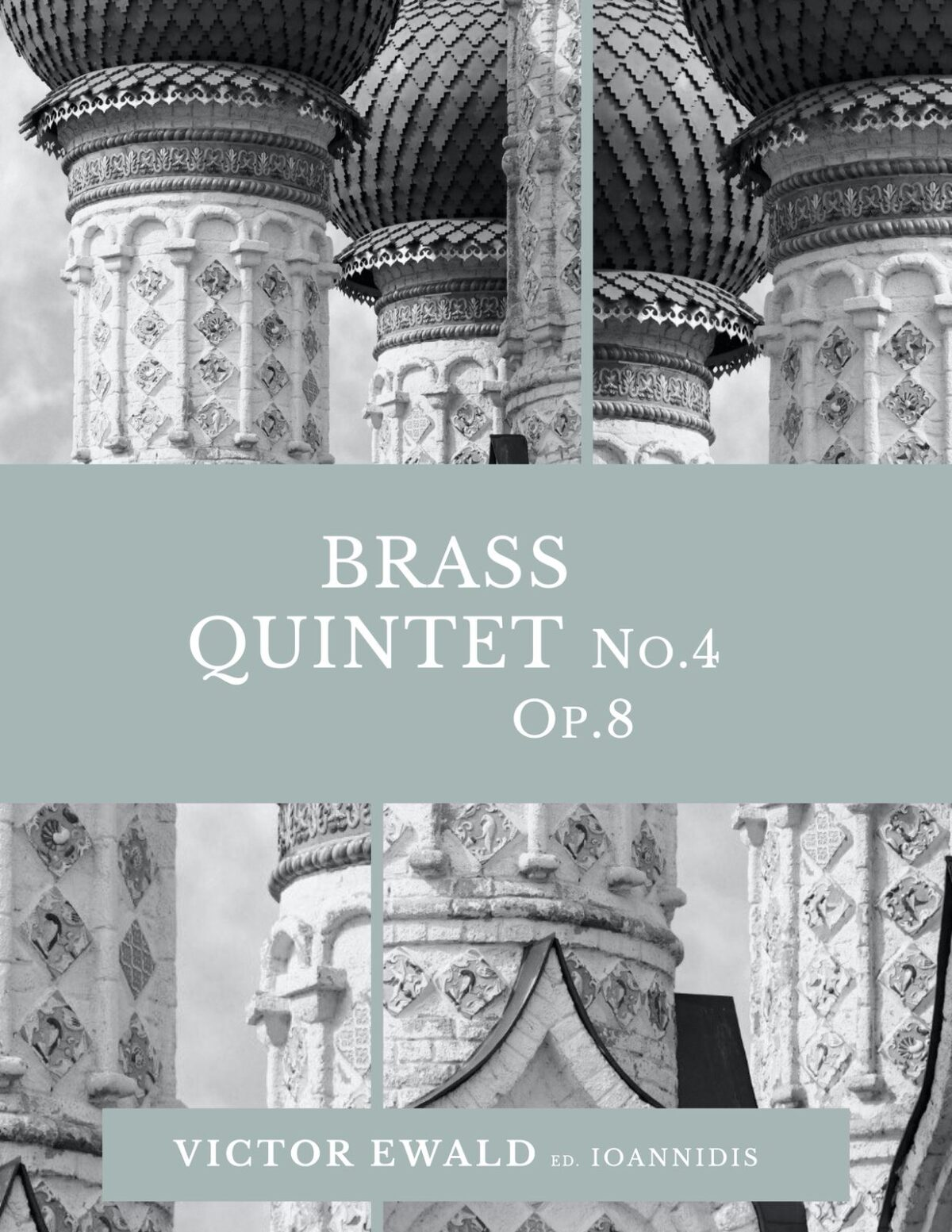 Ewald, Quintet No.4 (Score & Parts)-p001