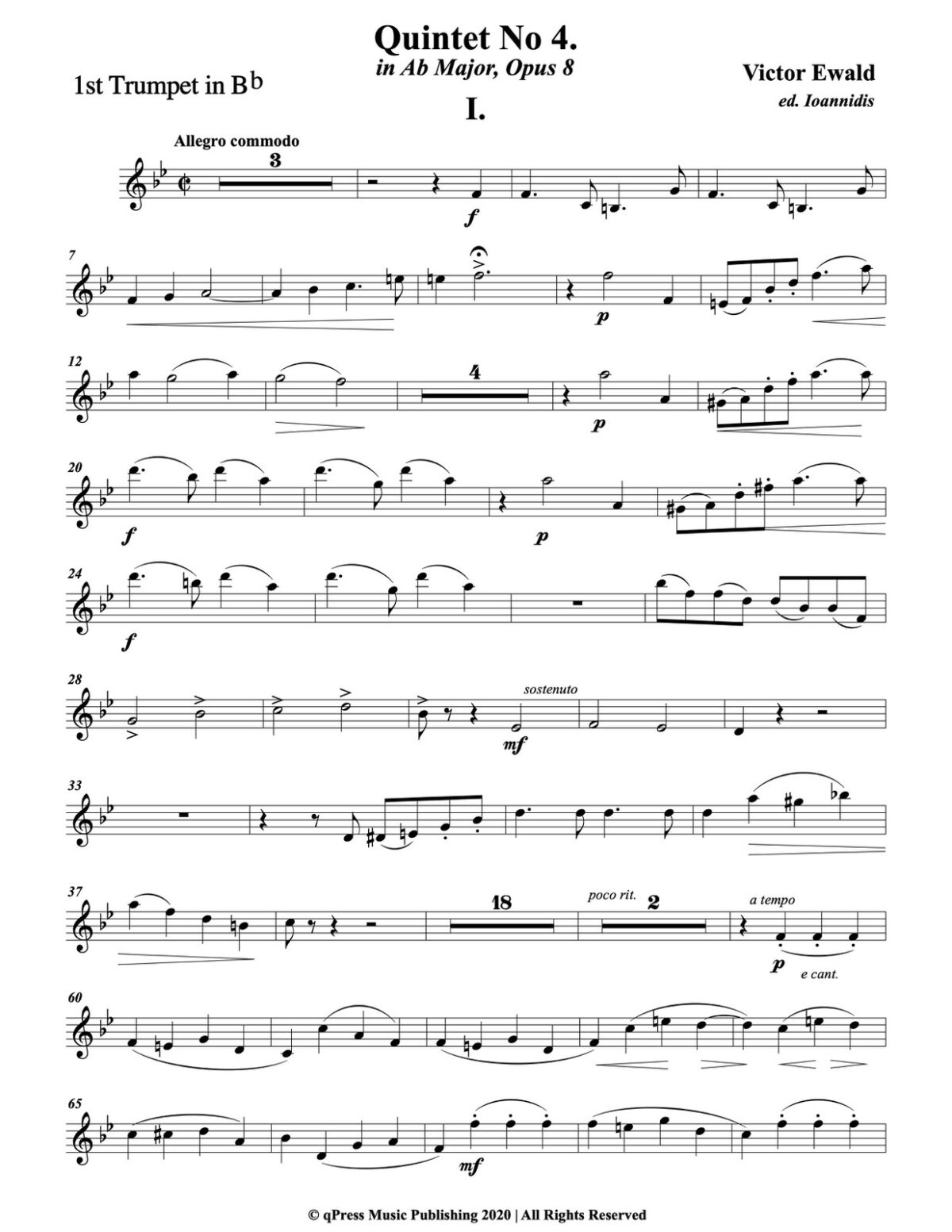 Ewald, Quintet No.4 (Score & Parts)-p041