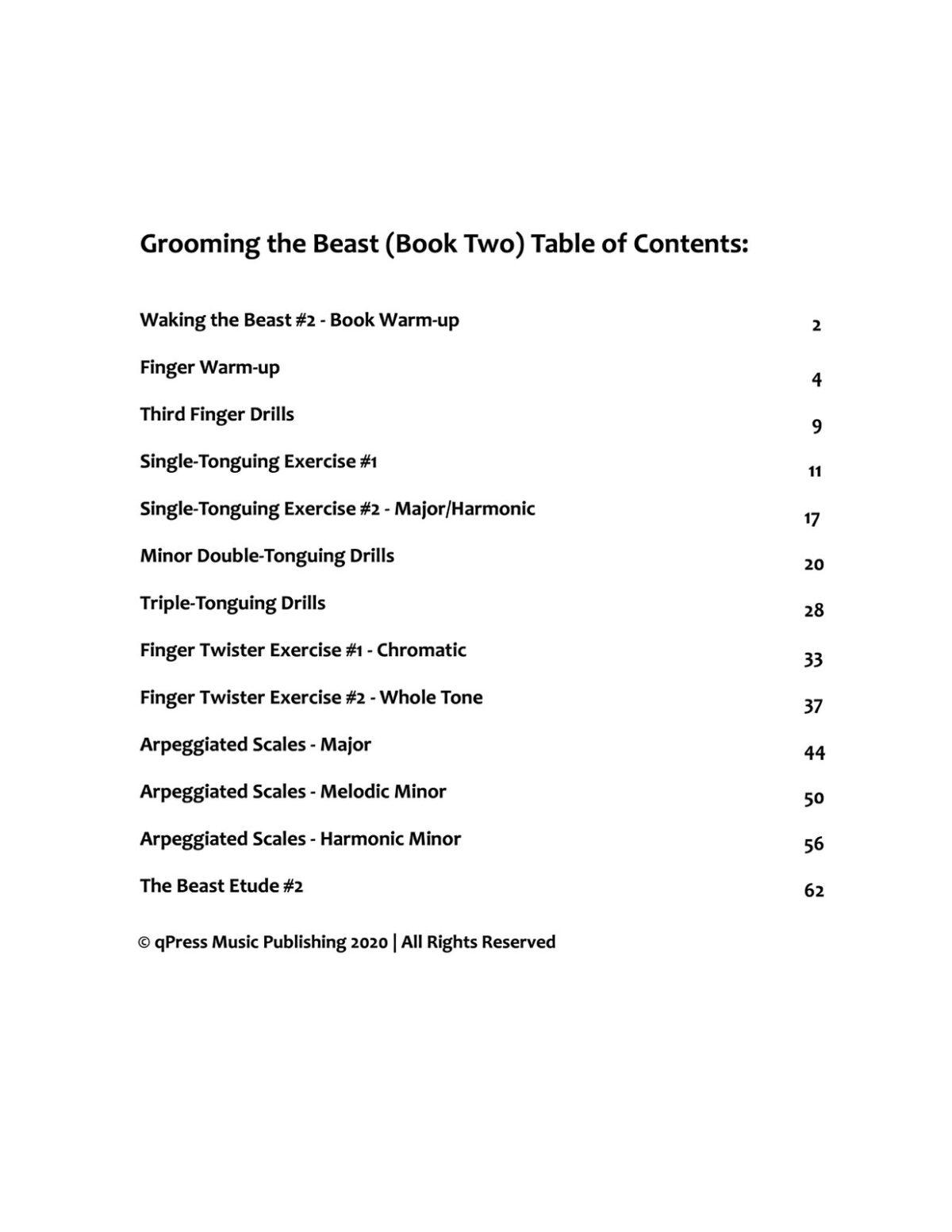 Fronke, Grooming The Beast-p07