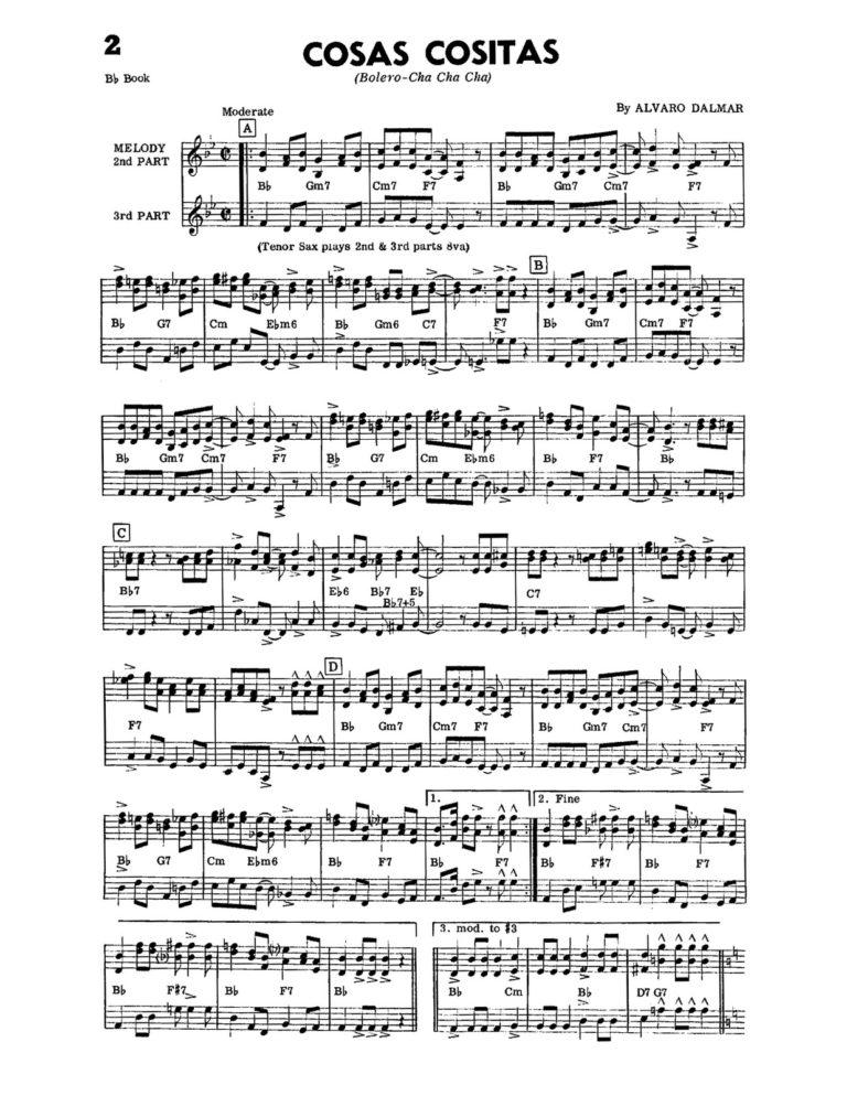 Cha-Cha-Cha's & Merengue's Vol.2 (Combo-Orks)