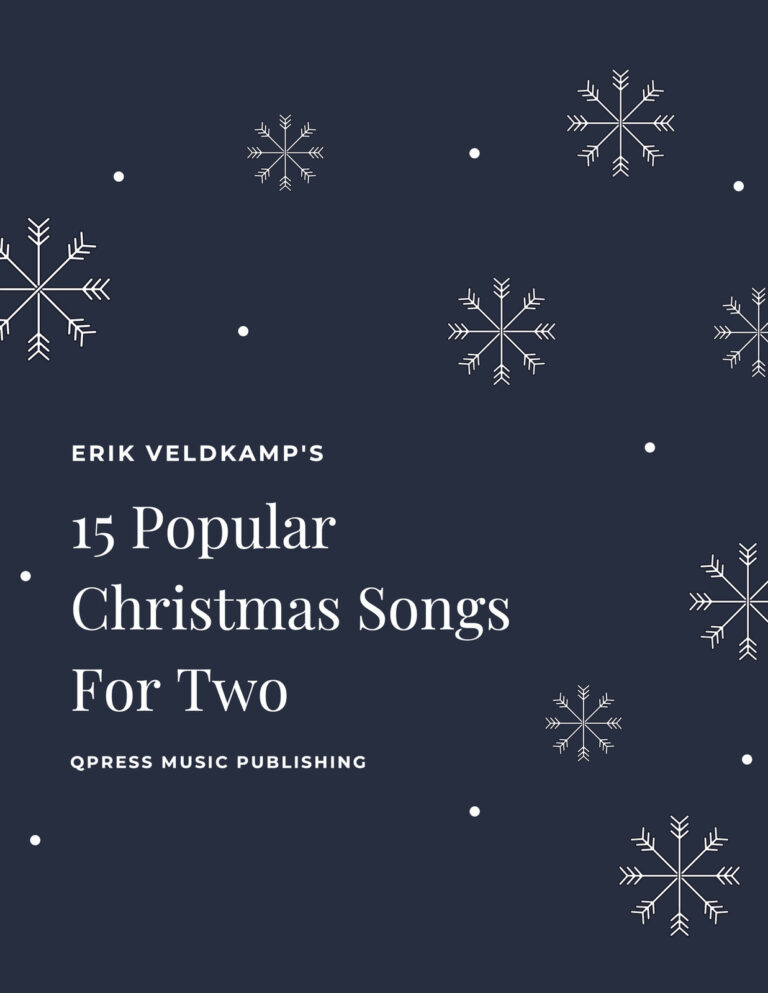 15 Popular Christmas Songs for Two (with recordings)