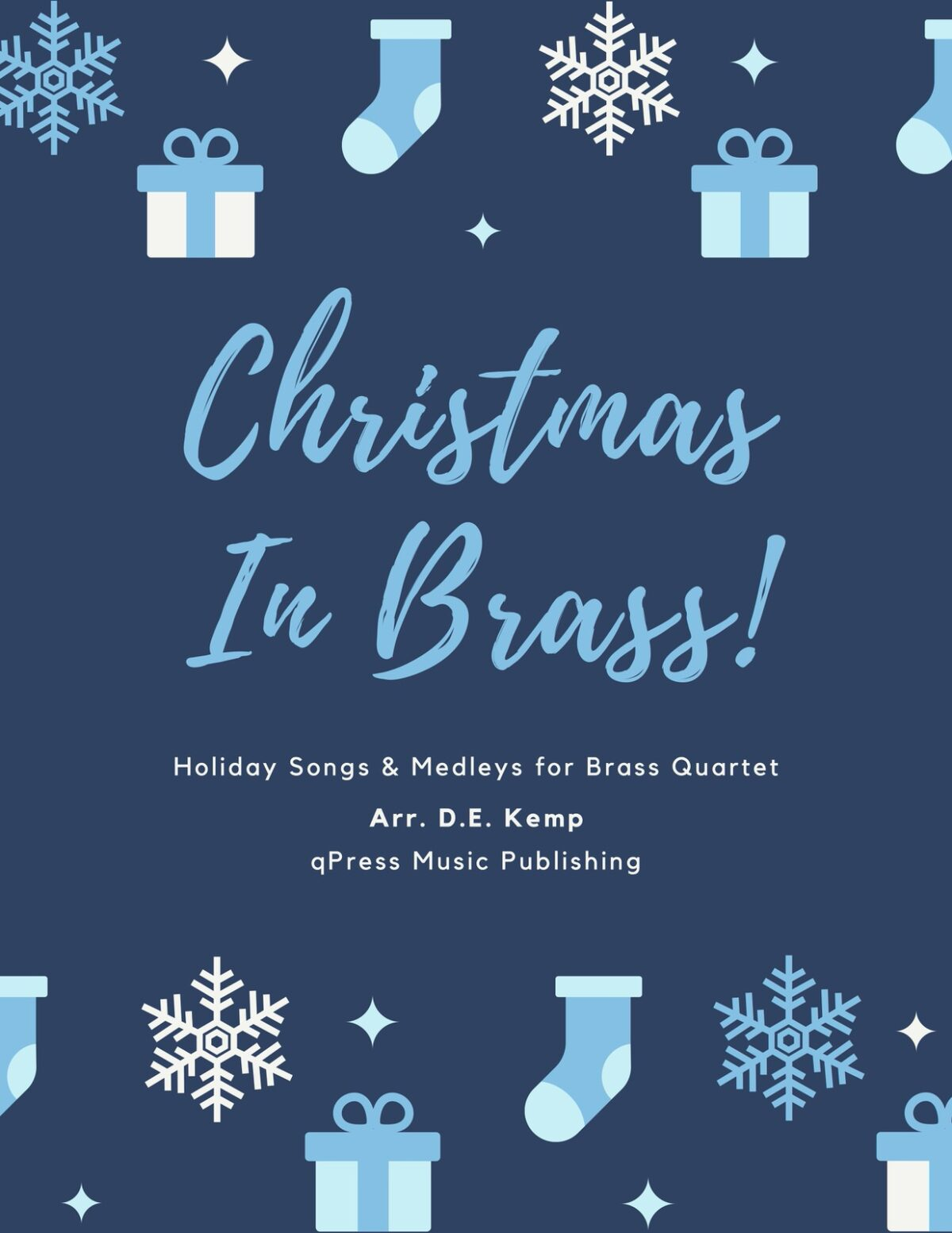Various, Christmas in Brass (Score & Parts)-p01