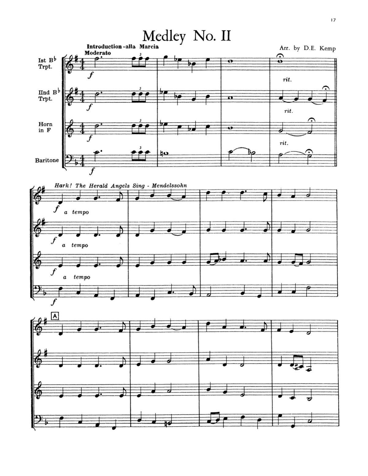 Various, Christmas in Brass (Score & Parts)-p19