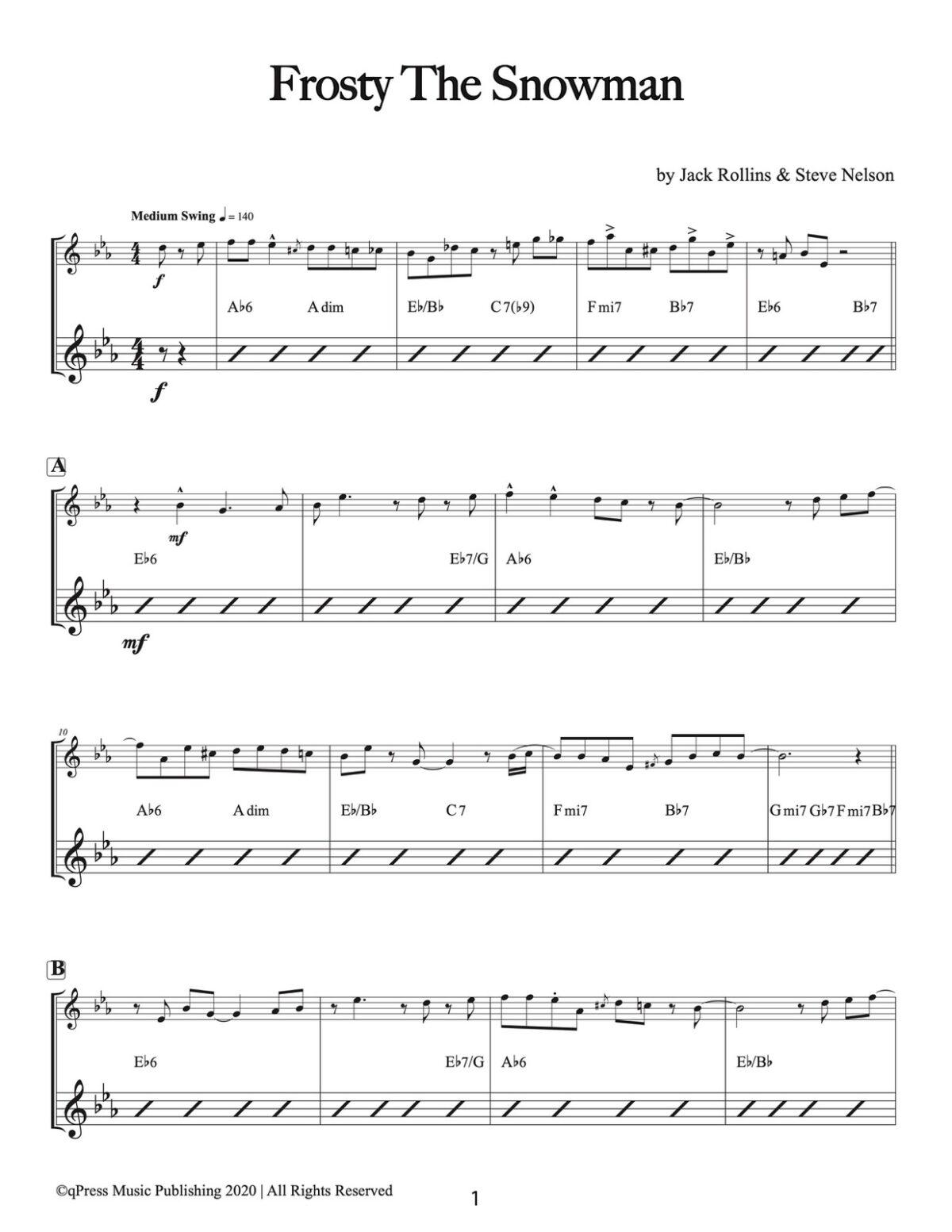 Veldkamp, 15 Popular Christmas Songs (Piano)-p03