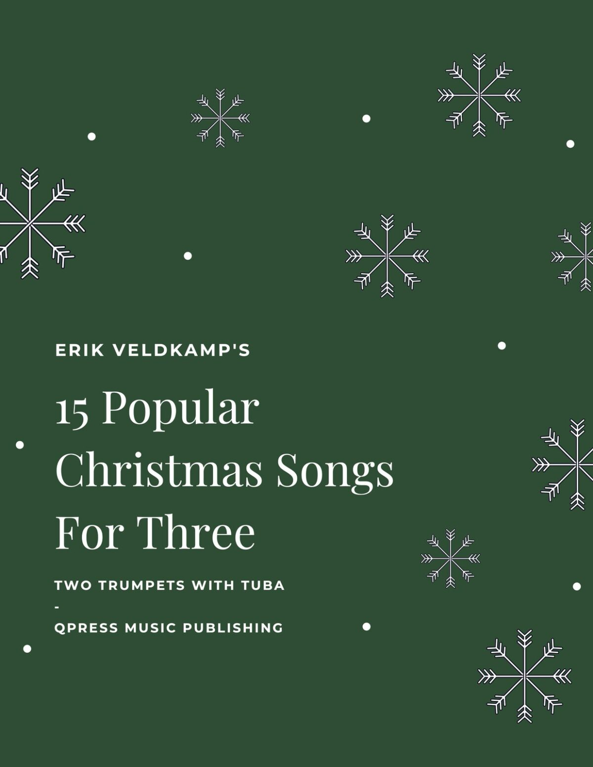 Veldkamp, 15 Popular Christmas Trios (Score)-p01