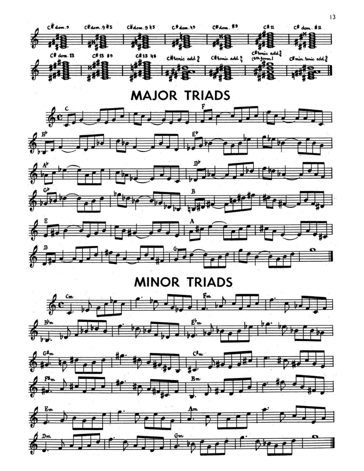 Gornston, All Chords for Trumpet-p15
