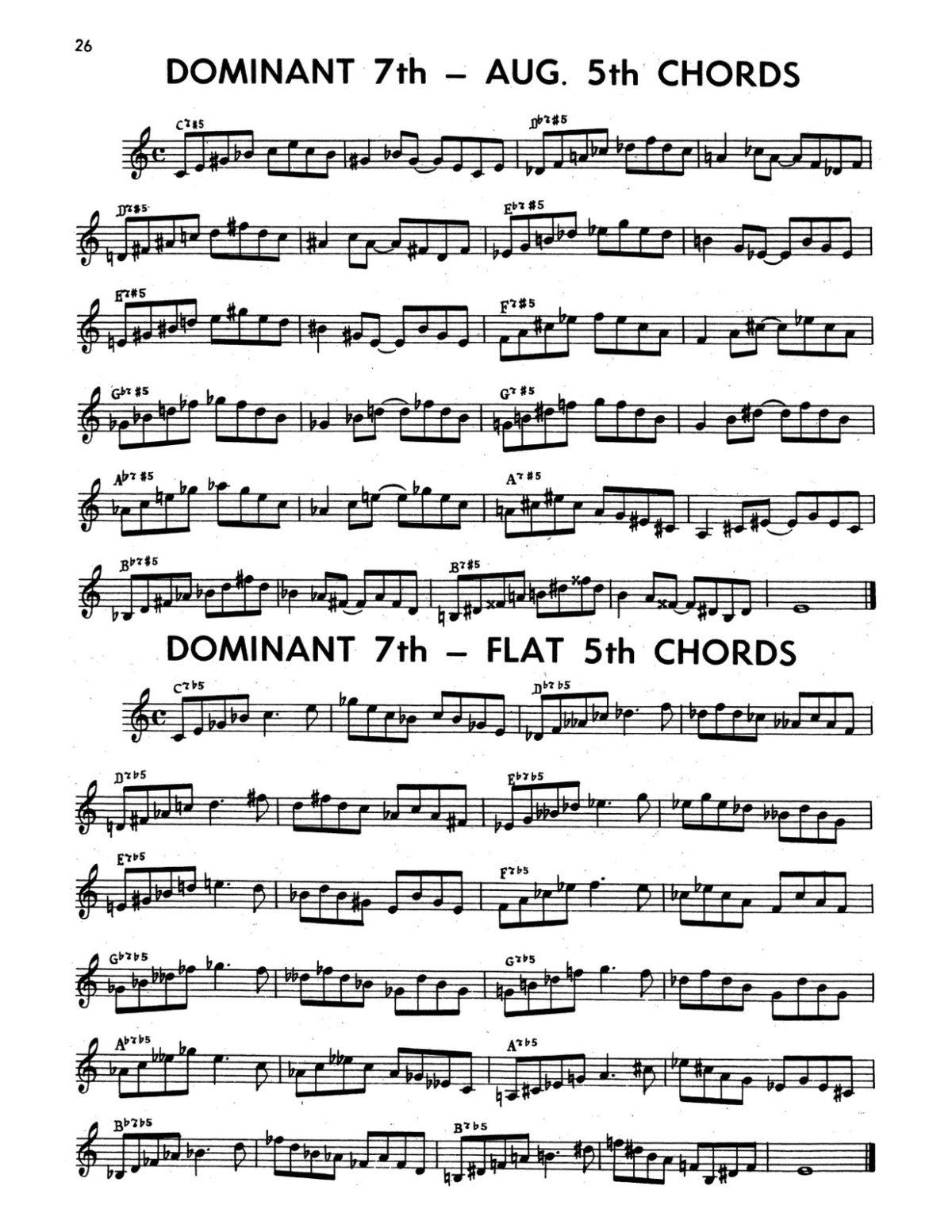 Gornston, All Chords for Trumpet-p28