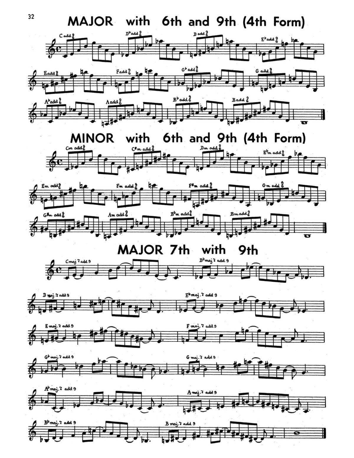 Gornston, All Chords for Trumpet-p34