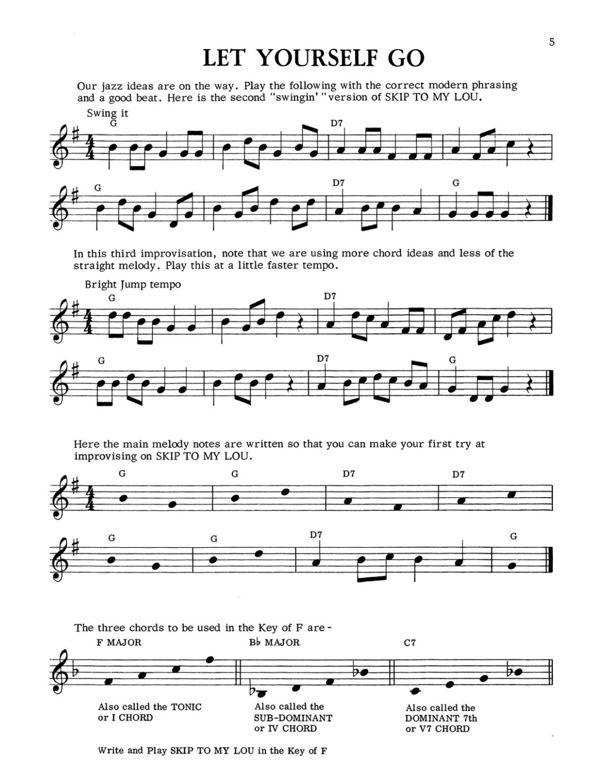 Gornston, Fun With Swing for Trumpet-p09