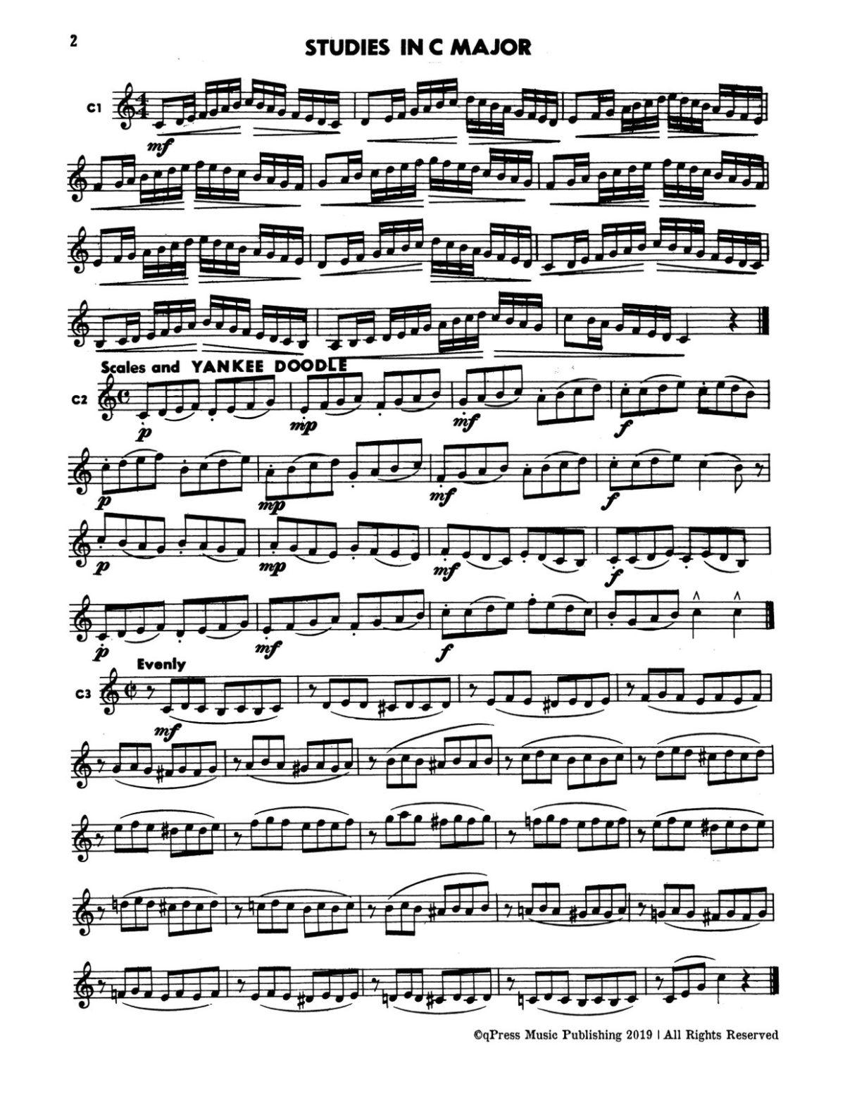 Gornston-Paisner, Fun With Scales for Trumpet-p02