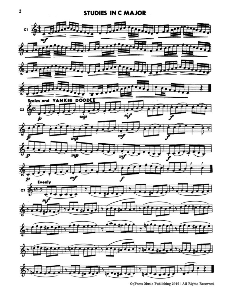 Fun With Scales for Trumpet