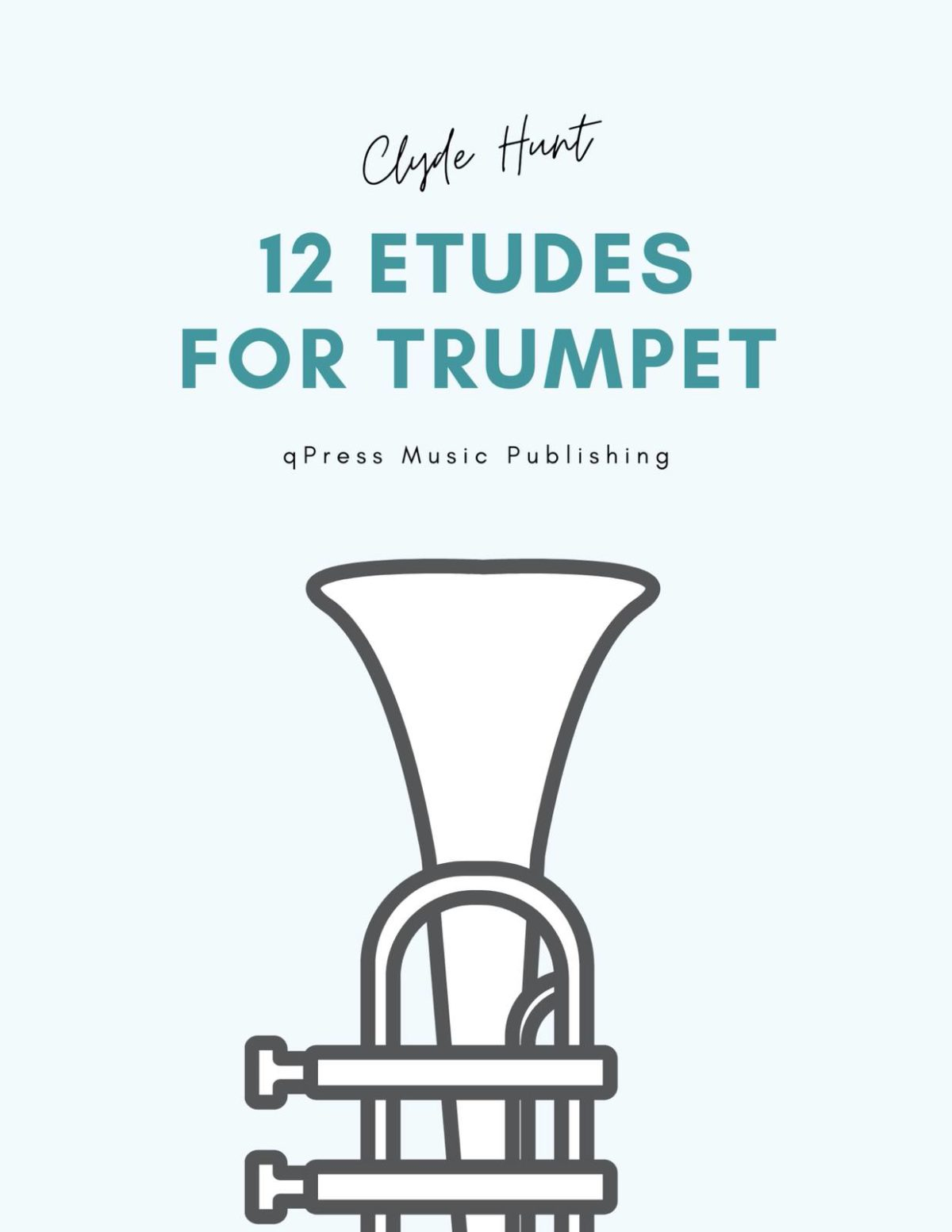 Hunt, 12 Etudes for Trumpet-p01