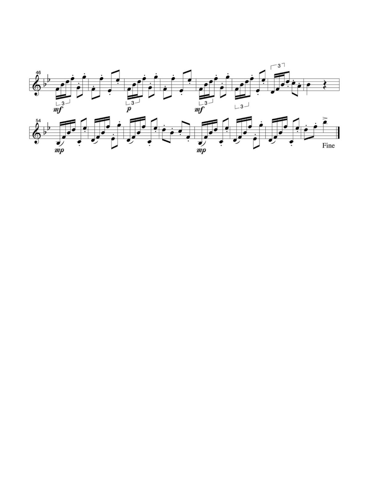 Hunt, 12 Etudes for Trumpet-p17