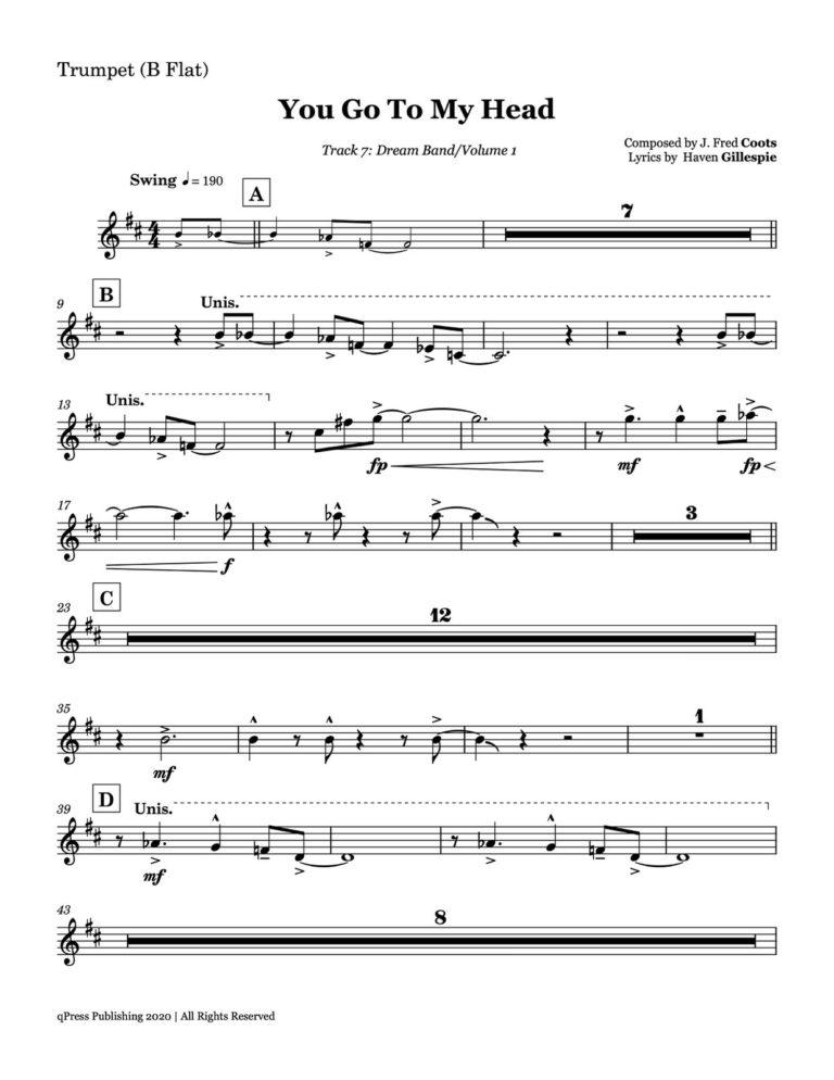 Dream Band Vol.1 (Lead Book Transcription)