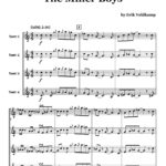 Veldkamp, Swinging Trumpet Quartets Vol.4 (Score)-p49
