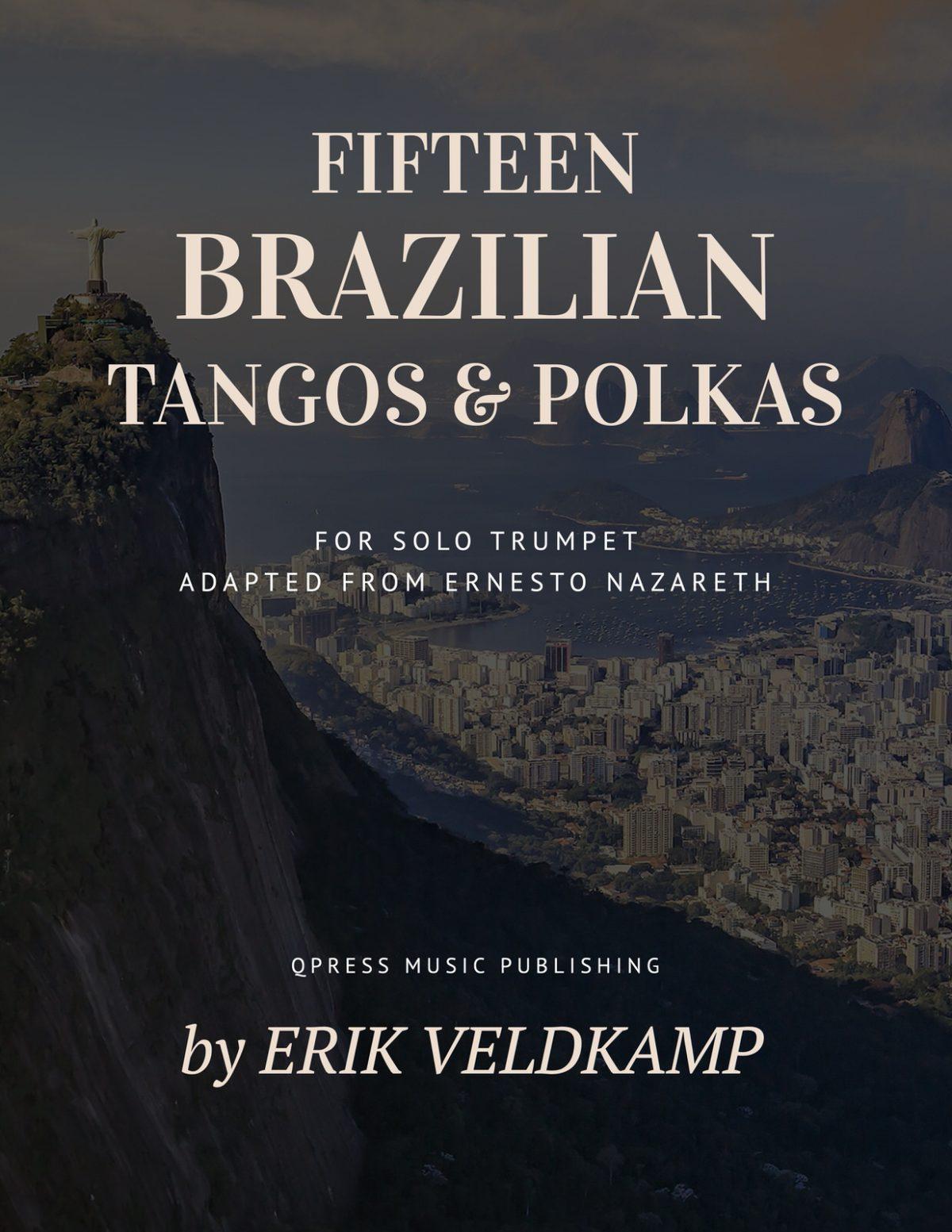 Veldkamp-Nazareth, 15 Brazilian Tangos & Polkas for Trumpet-p01