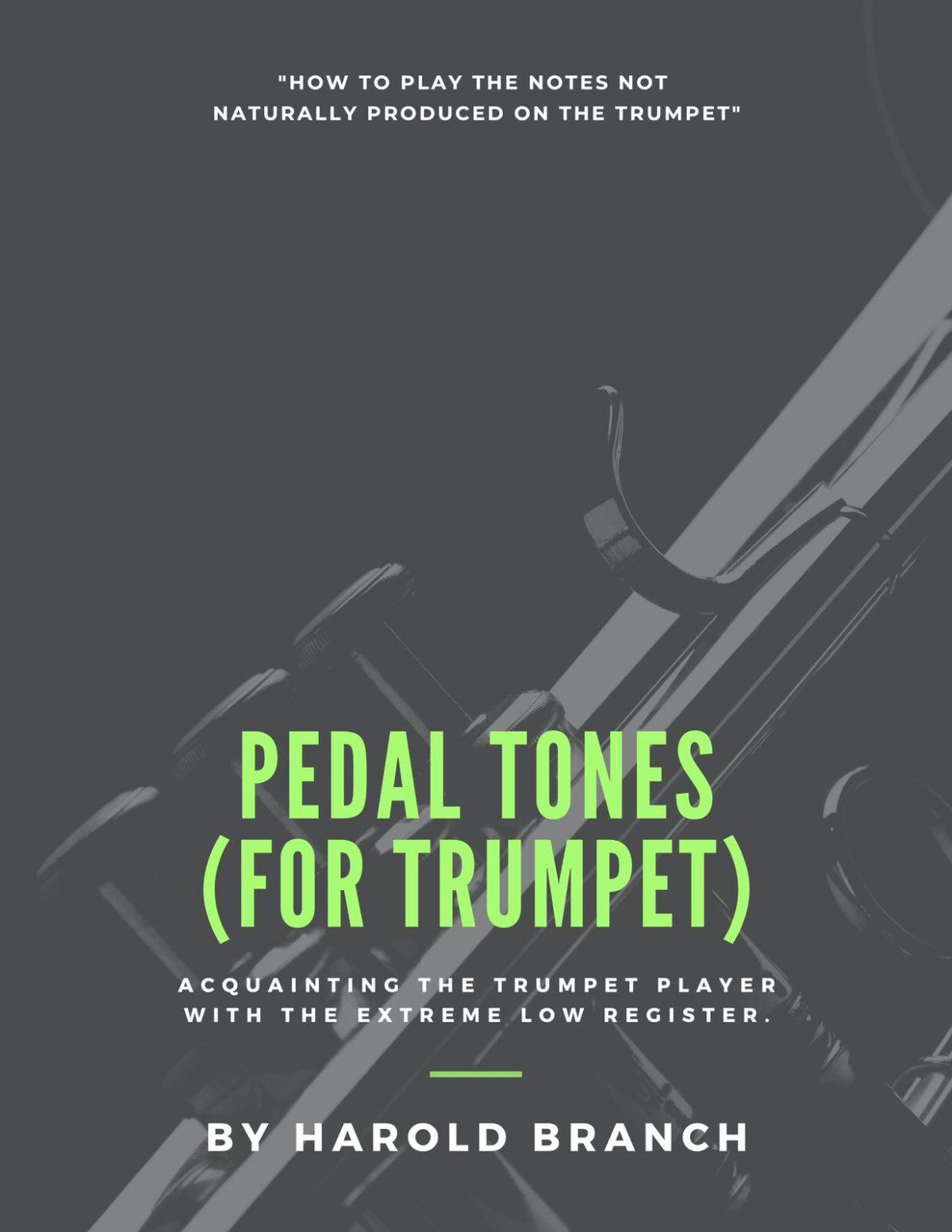 Branch, Pedal Tones for Trumpet-p01