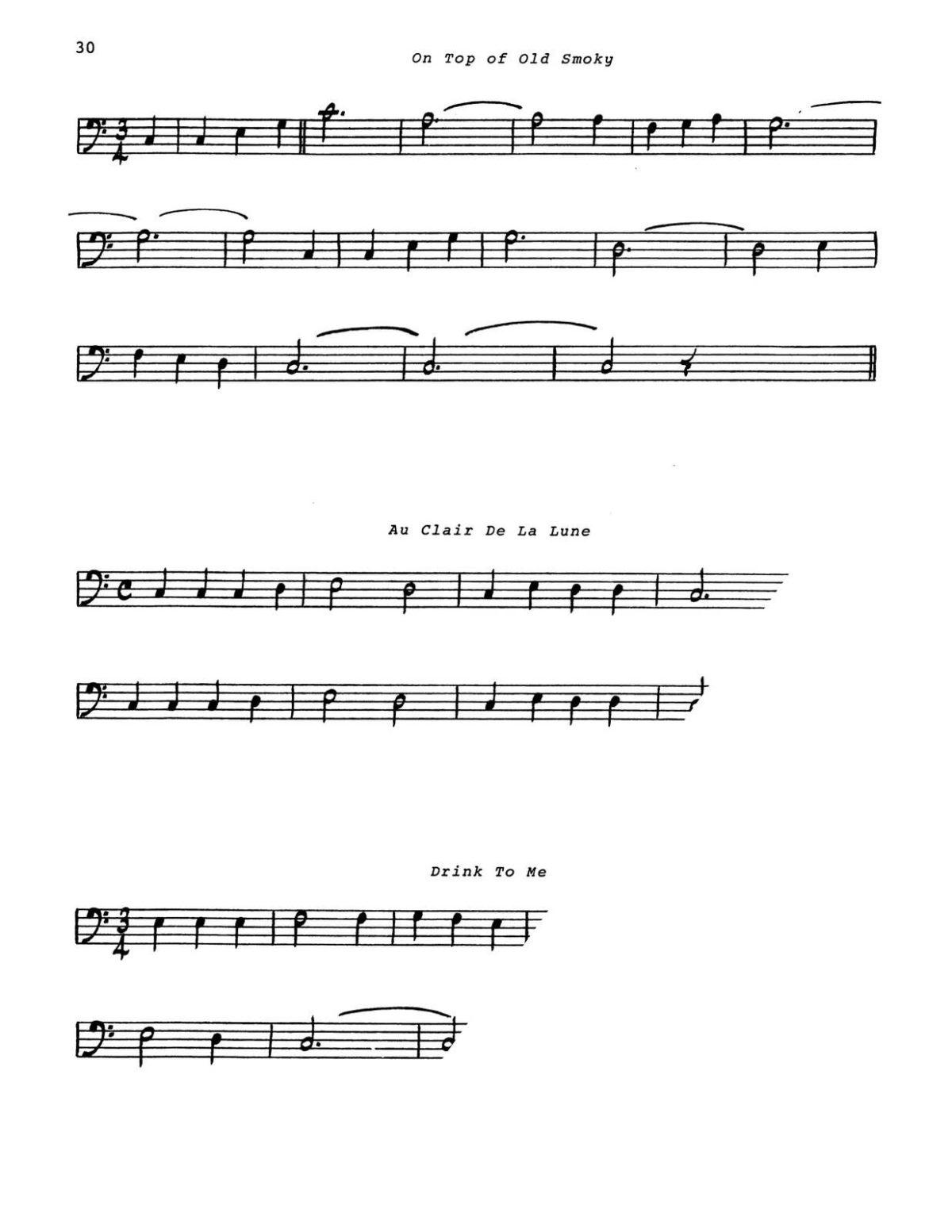 Branch, Pedal Tones for Trumpet-p34