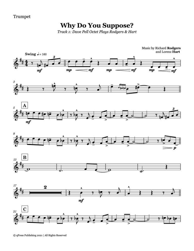 Fagerquist Plays Rodgers & Hart (Complete Album Transcription)