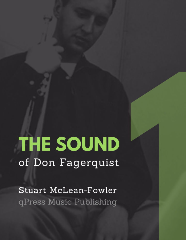 The Sound of Don Fagerquist Vol.1 (Play-Along)