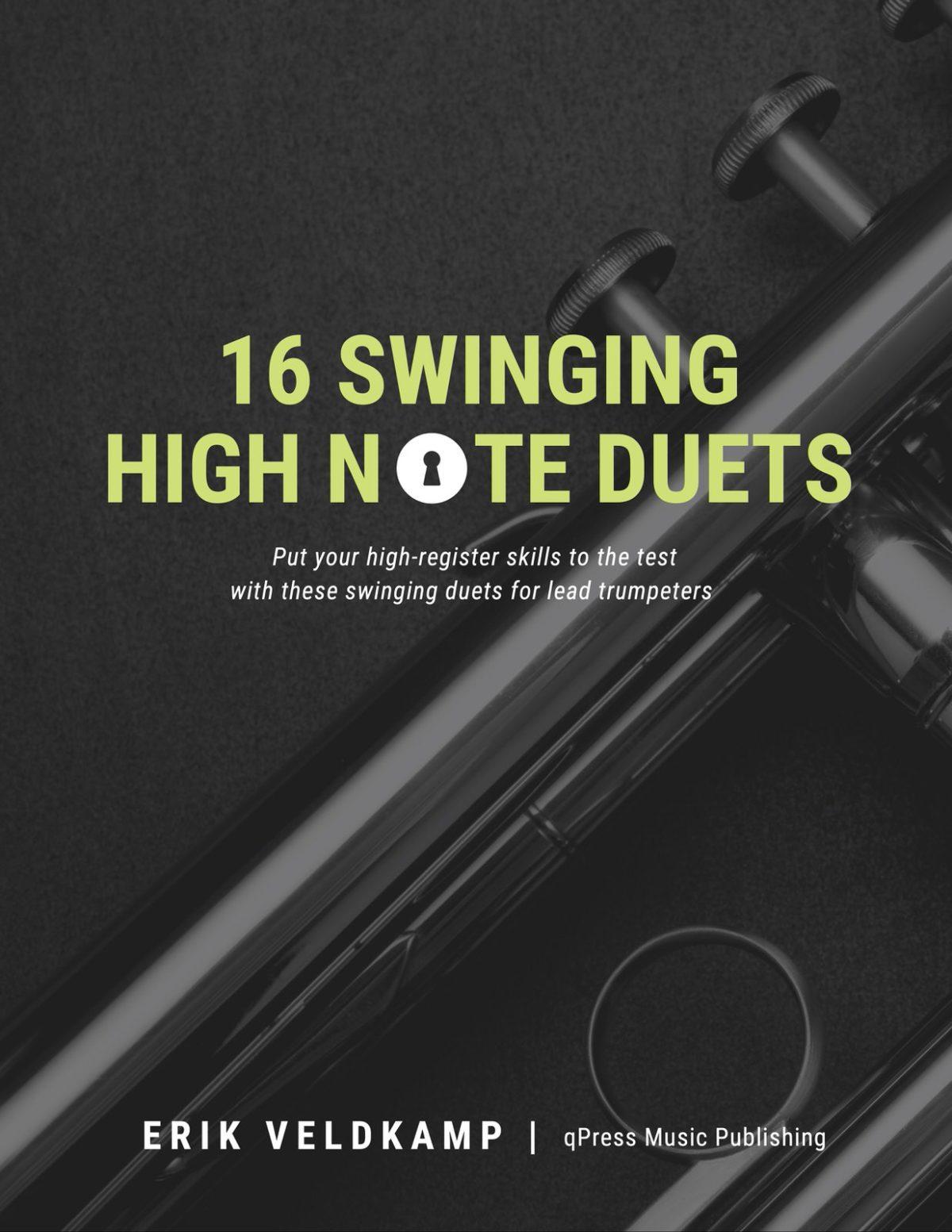 Veldkamp, 16 Swinging High Note Duets-p01