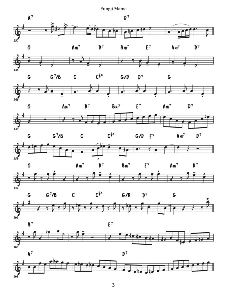 The Thing To Do (Complete Album Transcription)