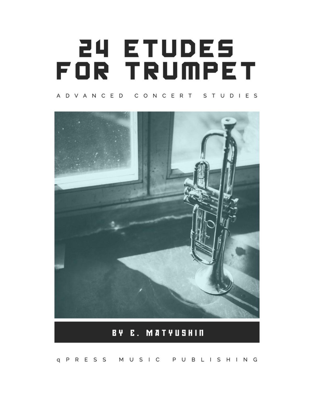 Matiushin, 24 Etudes for Trumpet-p01-1