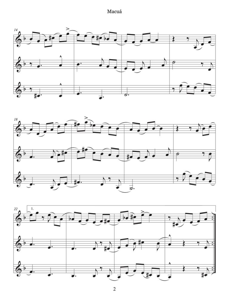 12 Waltzes for 3 Trumpets (With Audio)